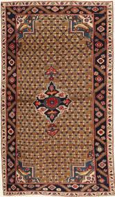 Koliai Patina Szőnyeg 100X183 Keleti Csomózású Sötétbarna/Világosbarna (Gyapjú, Perzsia/Irán)