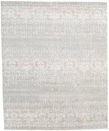 Himalaya Szőnyeg 246X301 Modern Csomózású Világosszürke/Sötét Bézs (Gyapjú/Bamboo Selyem, India)