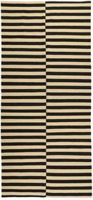 Kilim Modern Szőnyeg 168X372 Modern Csomózású Sötétszürke/Bézs (Gyapjú, Afganisztán)