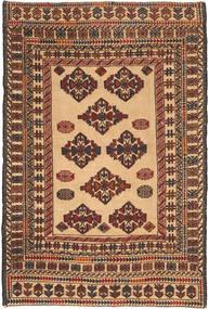 Kilim Golbarjasta Szőnyeg 128X196 Keleti Kézi Szövésű Sötétbarna/Világosbarna (Gyapjú, Afganisztán)