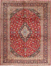 Kashan Szőnyeg 295X397 Keleti Csomózású Sötétpiros/Rozsdaszín Nagy (Gyapjú, Perzsia/Irán)