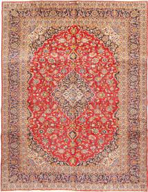 Kashan Signature : Kashan Ghotbi Szőnyeg 303X400 Keleti Csomózású Rozsdaszín/Sötétpiros Nagy (Gyapjú, Perzsia/Irán)