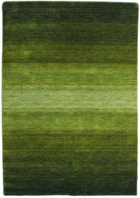Gabbeh Rainbow - Zöld Szőnyeg 140X200 Modern Sötétzöld/Olívazöld (Gyapjú, India)