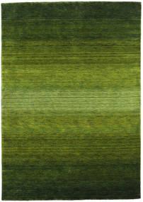 Gabbeh Rainbow - Zöld Szőnyeg 160X230 Modern Sötétzöld/Olívazöld (Gyapjú, India)