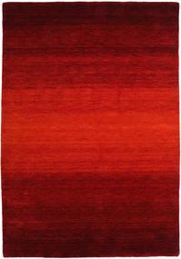 Gabbeh Rainbow - Piros Szőnyeg 160X230 Modern Rozsdaszín/Sötétpiros/Sötétbarna (Gyapjú, India)