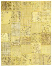 Patchwork Szőnyeg 197X251 Modern Csomózású Sárga/Sötét Bézs (Gyapjú, Törökország)