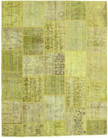 Patchwork Szőnyeg 199X252 Modern Csomózású Sárga/Olívazöld/Világoszöld (Gyapjú, Törökország)