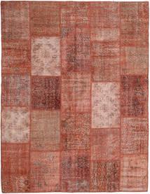 Patchwork Szőnyeg 197X254 Modern Csomózású Sötétpiros/Világos Rózsaszín (Gyapjú, Törökország)
