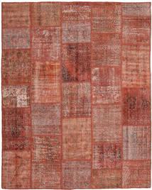 Patchwork Szőnyeg 199X248 Modern Csomózású Sötétpiros/Piros (Gyapjú, Törökország)