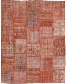 Patchwork Szőnyeg 198X251 Modern Csomózású Sötétpiros/Piros (Gyapjú, Törökország)
