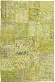 Patchwork Szőnyeg 194X300 Modern Csomózású Olívazöld/Sárga/Világoszöld (Gyapjú, Törökország)