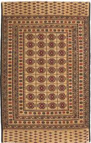 Kilim Golbarjasta Szőnyeg 125X194 Keleti Csomózású Sötét Bézs/Világosbarna (Gyapjú, Afganisztán)
