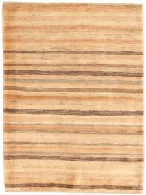 Gabbeh Perzsa Szőnyeg 108X146 Modern Csomózású Sötét Bézs/Bézs (Gyapjú, Perzsia/Irán)
