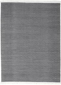 Diamond Gyapjú - Fekete Szőnyeg 210X290 Modern Kézi Szövésű Sötétszürke/Világosszürke (Gyapjú, India)