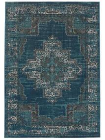 Vintage Vega - Petrol/Turquoise Szőnyeg 140X200 Modern Sötétkék/Kék ( Törökország)