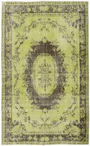 Colored Vintage Szőnyeg 169X275 Modern Csomózású Világoszöld/Olívazöld (Gyapjú, Törökország)