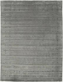 Loribaf Loom Delta - Szürke Szőnyeg 290X390 Modern Sötétszürke/Világosszürke Nagy (Gyapjú, India)