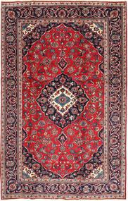Kashan Patina Szőnyeg 188X295 Keleti Csomózású Sötétpiros/Sötétlila (Gyapjú, Perzsia/Irán)