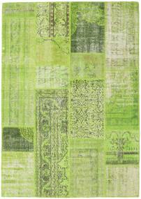 Patchwork Szőnyeg 160X228 Modern Csomózású Világoszöld/Olívazöld (Gyapjú, Törökország)