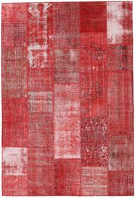 Patchwork Szőnyeg 203X298 Modern Csomózású Sötétpiros/Rozsdaszín (Gyapjú, Törökország)