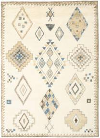 Berber Indiai - Off White/Bézs Szőnyeg 210X290 Modern Csomózású Bézs/Krém/Bézs (Gyapjú, India)