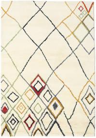 Berber Indiai - Off-White/Multi Szőnyeg 160X230 Modern Csomózású Bézs/Bézs/Krém (Gyapjú, India)