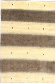 Gabbeh Perzsa Szőnyeg 197X291 Modern Csomózású Bézs/Sárga/Világosbarna (Gyapjú, Perzsia/Irán)