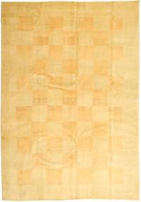 Gabbeh Perzsa Szőnyeg 206X295 Modern Csomózású Sárga/Világosbarna (Gyapjú, Perzsia/Irán)
