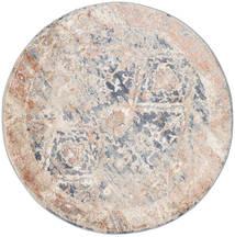 Talitha - Dusty Kék Szőnyeg Ø 150 Modern Kerek Világosszürke/Bézs/Krém ( Törökország)