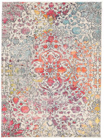 Kaleidoscope - Multi Szőnyeg 160X230 Modern Világosszürke/Sötétbarna ( Törökország)