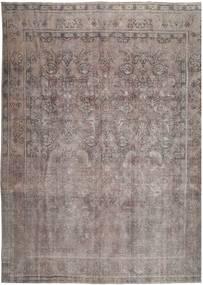 Vintage Szőnyeg 288X380 Modern Csomózású Sötétszürke/Világosszürke Nagy (Gyapjú, Perzsia/Irán)