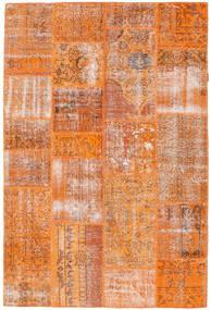 Patchwork Szőnyeg 160X239 Modern Csomózású Narancssárga/Világosbarna (Gyapjú, Törökország)