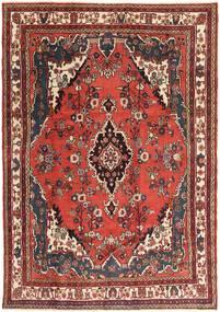 Hamadán Patina Szőnyeg 207X297 Keleti Csomózású Sötétbarna/Sötétpiros (Gyapjú, Perzsia/Irán)