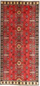 Qashqai Patina Szőnyeg 135X307 Keleti Csomózású Sötétpiros/Rozsdaszín (Gyapjú, Perzsia/Irán)