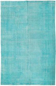 Colored Vintage Szőnyeg 201X306 Modern Csomózású Türkiz Kék/Türkiz Kék/Világoskék (Gyapjú, Törökország)