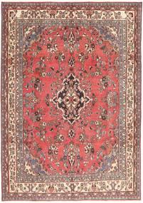 Hamadán Patina Szőnyeg 203X298 Keleti Csomózású Világos Rózsaszín/Sötétpiros (Gyapjú, Perzsia/Irán)