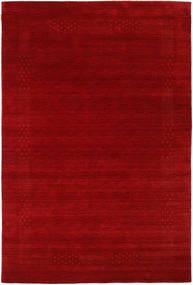 Loribaf Loom Beta - Piros Szőnyeg 190X290 Modern Sötétpiros/Rozsdaszín (Gyapjú, India)