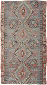 Kilim Törökország Szőnyeg 150X280 Keleti Kézi Szövésű Sötétszürke/Világosszürke (Gyapjú, Törökország)