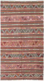 Kilim Törökország Szőnyeg 177X335 Keleti Kézi Szövésű Rozsdaszín/Világosszürke (Gyapjú, Törökország)