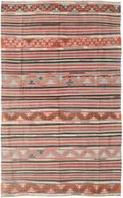 Kilim Törökország Szőnyeg 164X258 Keleti Kézi Szövésű Világosszürke/Világosbarna (Gyapjú, Törökország)