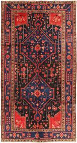 Koliai Szőnyeg 156X293 Keleti Csomózású Sötétpiros/Sötétszürke (Gyapjú, Perzsia/Irán)