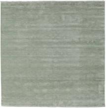 Handloom Fringes - Soft Teal Szőnyeg 250X250 Modern Szögletes Világoszöld Nagy (Gyapjú, India)