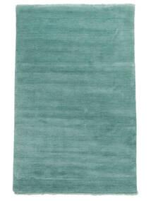 Handloom Fringes - Aqua Szőnyeg 160X230 Modern Türkiz Kék/Sötét Turquoise (Gyapjú, India)