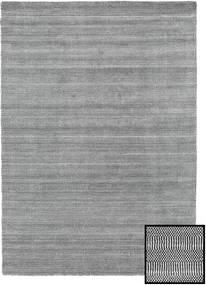 Bamboo Grass - Black_ Szürke Szőnyeg 160X230 Modern Világosszürke/Sötétszürke (Gyapjú/Bamboo Selyem, Törökország)