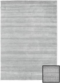 Bamboo Grass - Szürke Szőnyeg 160X230 Modern Világosszürke (Gyapjú/Bamboo Selyem, Törökország)