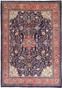 Mahal Szőnyeg 241X345 Keleti Csomózású Sötétlila/Rózsaszín (Gyapjú, Perzsia/Irán)
