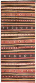 Kilim Fars Szőnyeg 157X380 Keleti Kézi Szövésű Sötétpiros/Piros (Gyapjú, Perzsia/Irán)
