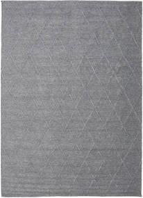Svea - Charcoal Szőnyeg 200X300 Modern Kézi Szövésű Világosszürke/Sötétszürke (Gyapjú, India)