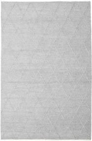 Svea - Ezüstszürke Szőnyeg 200X300 Modern Kézi Szövésű Világosszürke/Bézs/Krém (Gyapjú, India)
