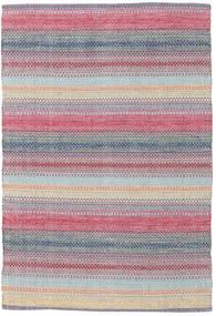 Wilma - Rózsaszín Szőnyeg 120X180 Modern Kézi Szövésű Világosszürke/Világoslila (Pamut, India)